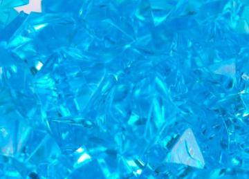Large Acrylic Coloured Stones 300g - Turquoise